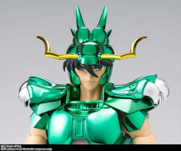 Dragon Shiryu - Figura Saint Cloth Myth Renasce