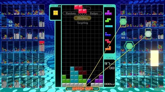 Tetris 99 - Análise