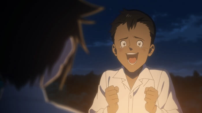 Yakusoku no Neverland episodio 6 don lagrimas