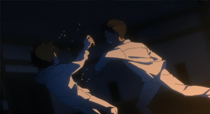 Yakusoku no Neverland episodio 6 don murro ray
