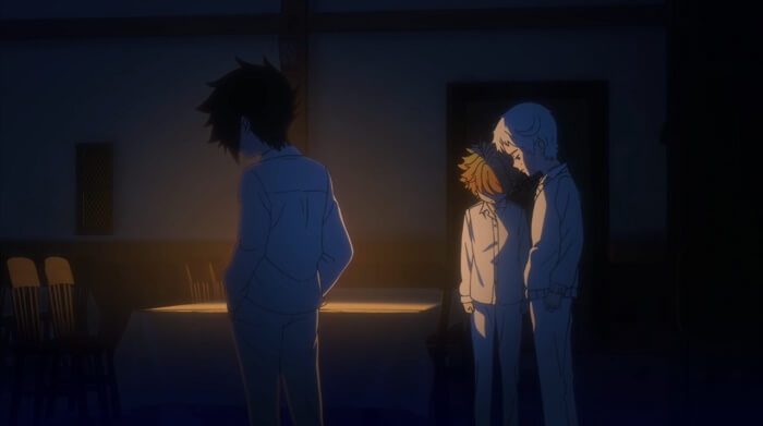 Yakusoku no neverland episodio 6 ray luz