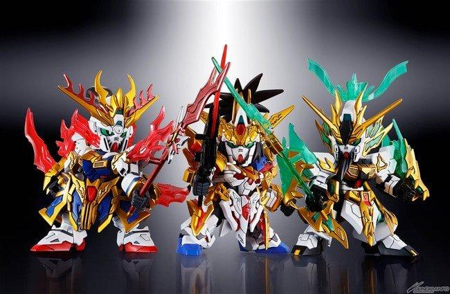 SD Gundam World Sangoku Souketsuden - Novas Informações sobre o Projeto