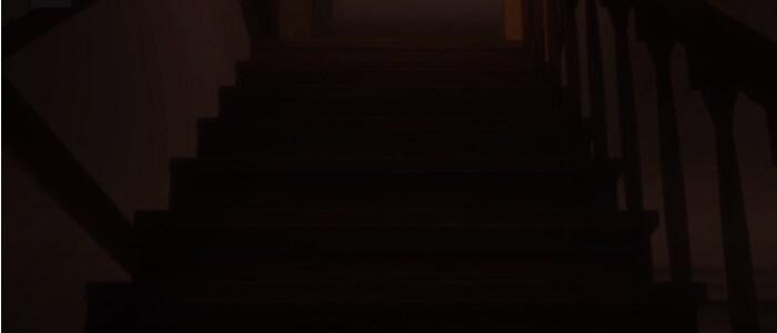 yakusoku no neverland episodio 4 escadas animacao
