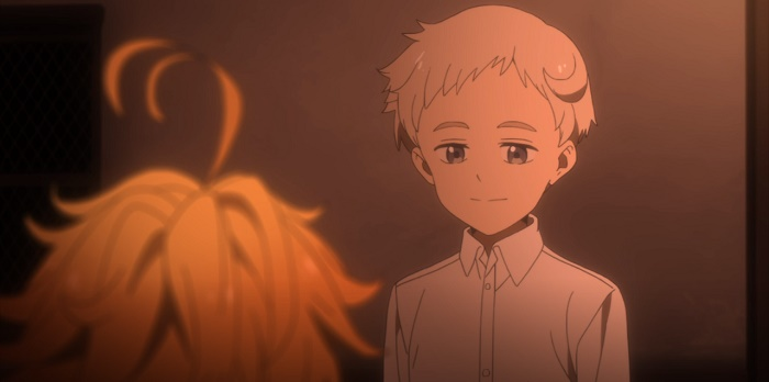 yakusoku no neverland episodio 4 norman e emma 1