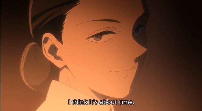 yakusoku no neverland episodio 7 mae tempo