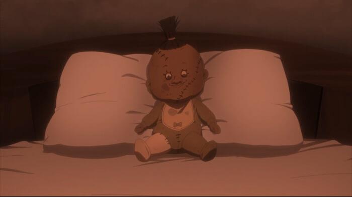 yakusoku no neverland episodio 7 opiniao camera boneca