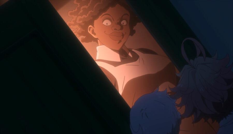 yakusoku no neverland episodio 7 opiniao krone animacao