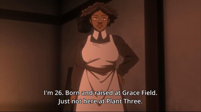 yakusoku no neverland episodio 7 opiniao krone plantas
