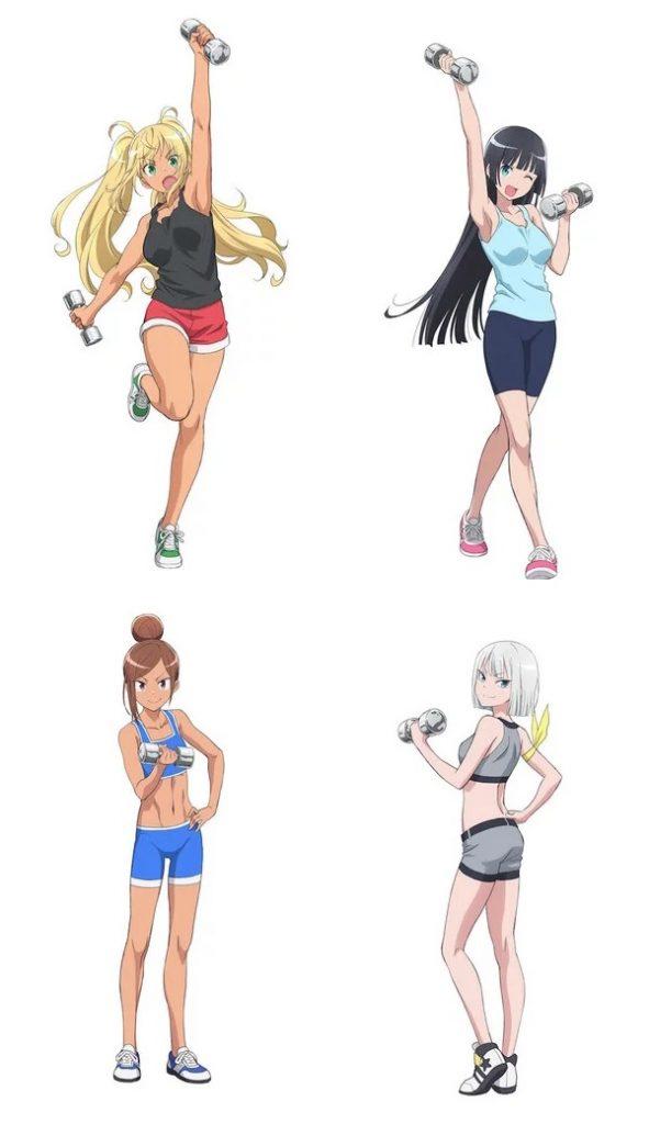 Dumbbell Nan Kilo Moteru - Anime revela Teaser