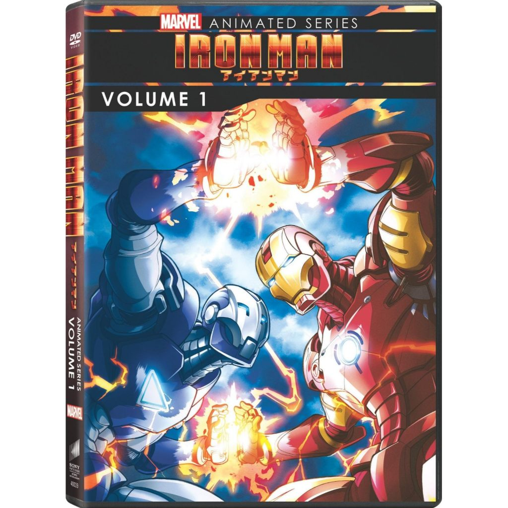 DVDs Blu-rays Anime Agosto 2012 - Marvel Animated Series Iron Man Volume 1
