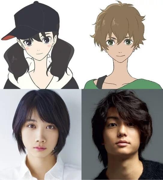 Kimi to Nami ni Noretara - Filme Anime revela Trailer