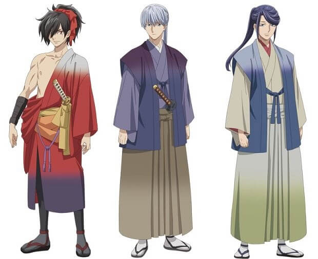 Kochoki: Wakaki Nobunaga - Anime revela Vídeo Promocional
