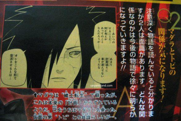 Masashi Kishimoto: A identidade de Tobi vai ser revelada!