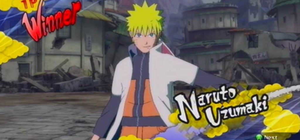 Naruto Hokage - Personagem Jogável Ultimate Ninja Storm 2
