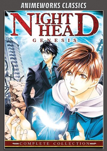 DVDs Blu-rays Anime Agosto 2012 - Night Head Genesis Complete Collection