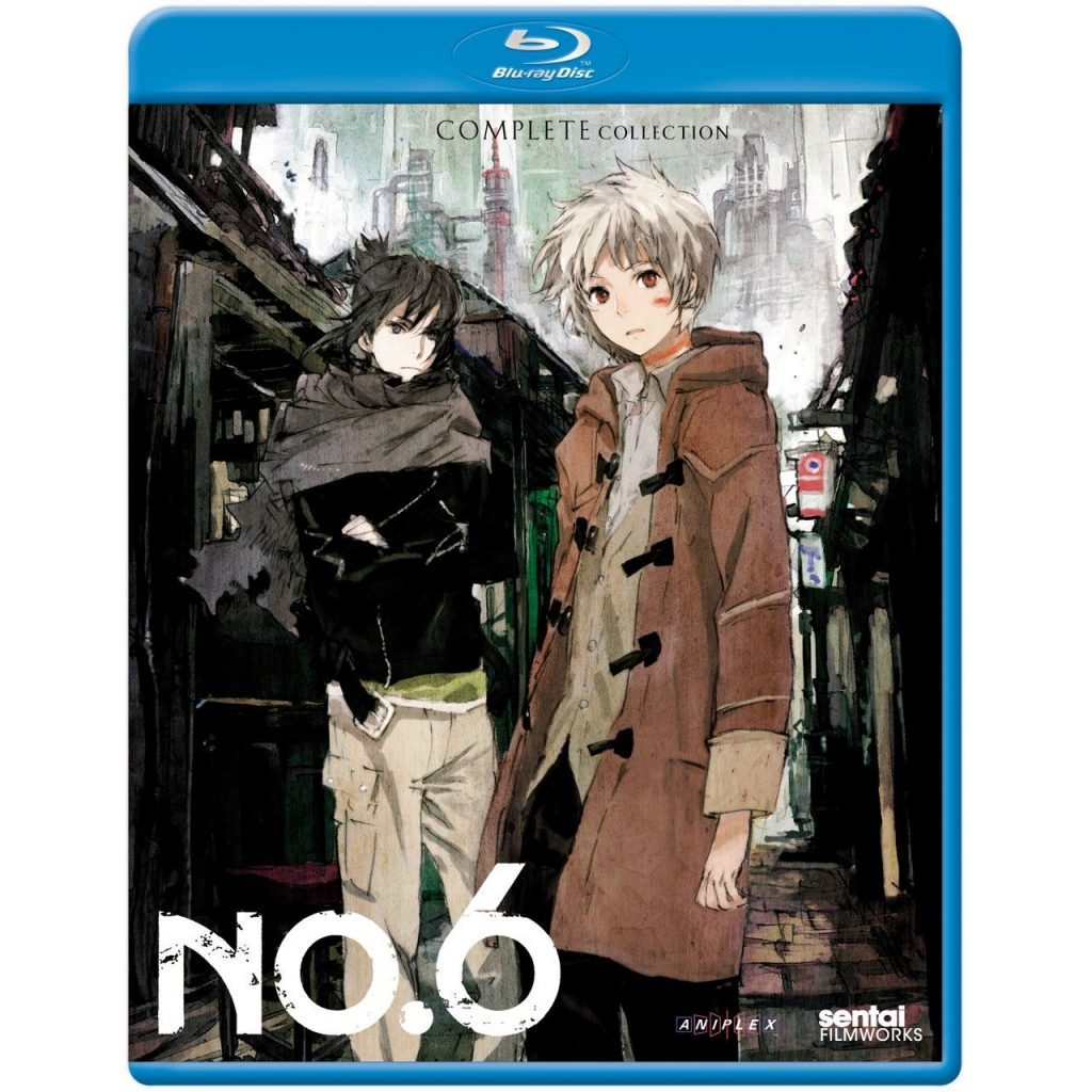 DVDs Blu-rays Anime Agosto 2012 - No 6 Complete Collection