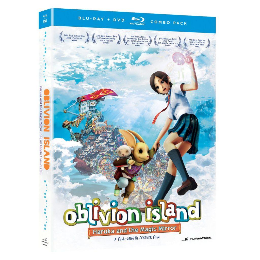 DVDs Blu-rays Anime Agosto 2012 - Oblivion Island Haruka and the Magic Mirror