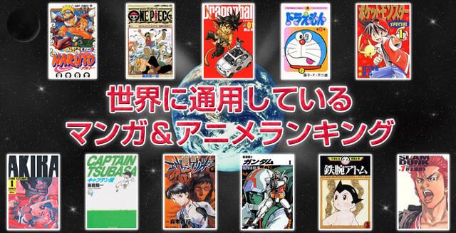 TOP 10 Mundial Anime e Manga segundo a Oricon