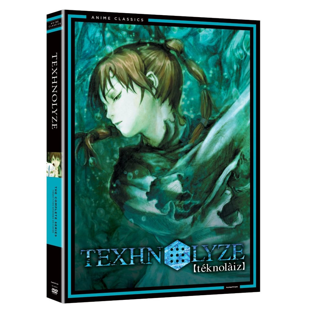 DVDs Blu-rays Anime Agosto 2012- Texhnolyze The Complete Series Funimation