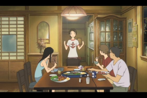 The Girl Who Leapt Through Time - Animes em Imagens