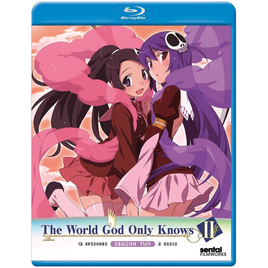DVDs Blu-rays Anime Agosto 2012 - The World God Only Knows II