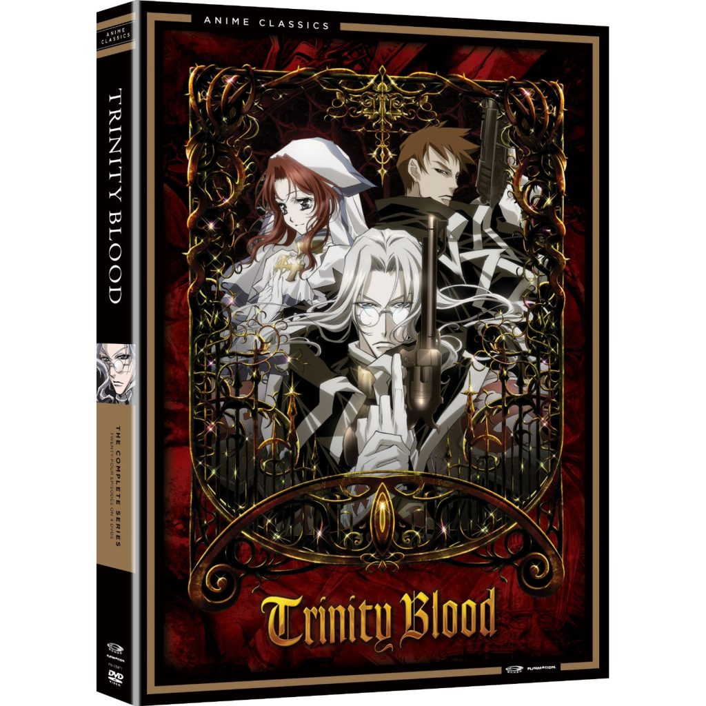 DVDs Blu-rays Anime Agosto 2012 - Trinity Blood The Complete Series
