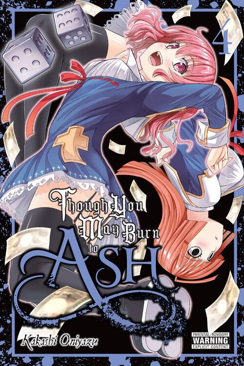 Faleceu Kakashi Oniyazu - Autor manga de Though You May Burn to Ash