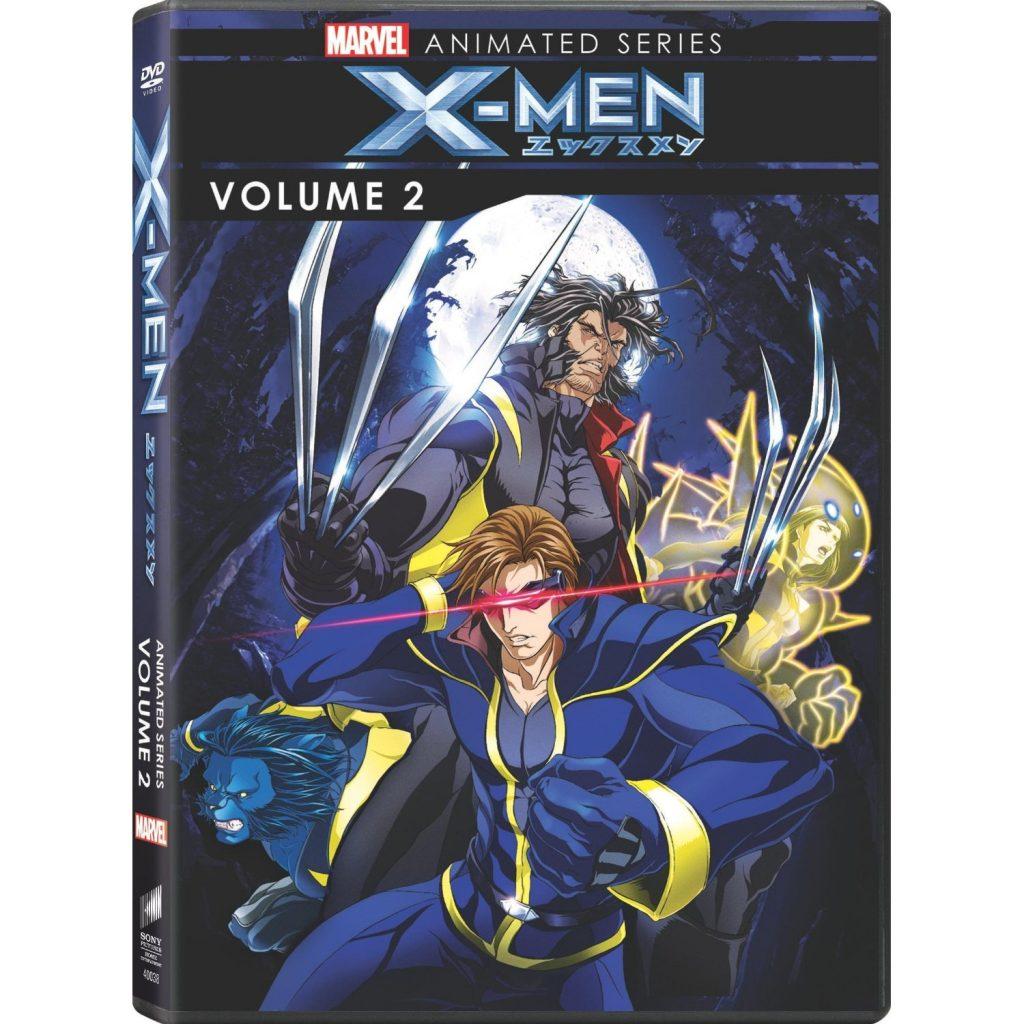 DVDs Blu-rays Anime Agosto 2012 - Marvel Animated Series X-Men Volume 2
