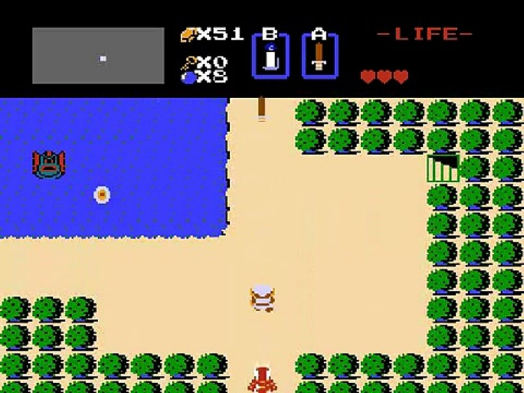 The Legend of Zelda - O começo de uma era - Screenshot