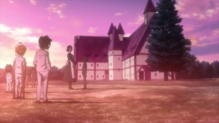 yakusoku no Neverland episodio 9 mae e norman sombra