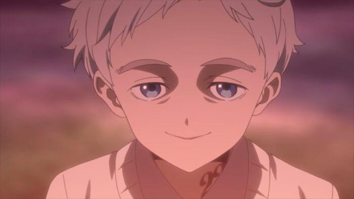 yakusoku no Neverland episodio 9 norman expressao 4