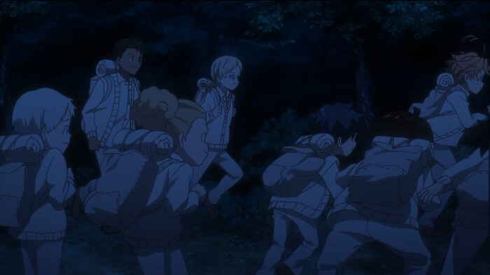 yakusoku no neverland episodio 11 criancas