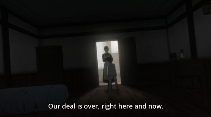yakusoku no neverland episodio 8 mae r ray alianca