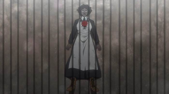 yakusoku no neverland episodio 8 morte krone