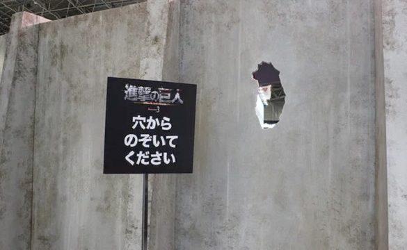 Attack on Titan – Exposição recria Cenas Icónicas do Anime