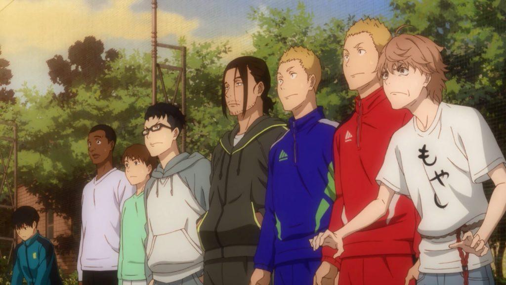 Kaze ga Tsuyoku Fuiteiru - Anime Outono 2018