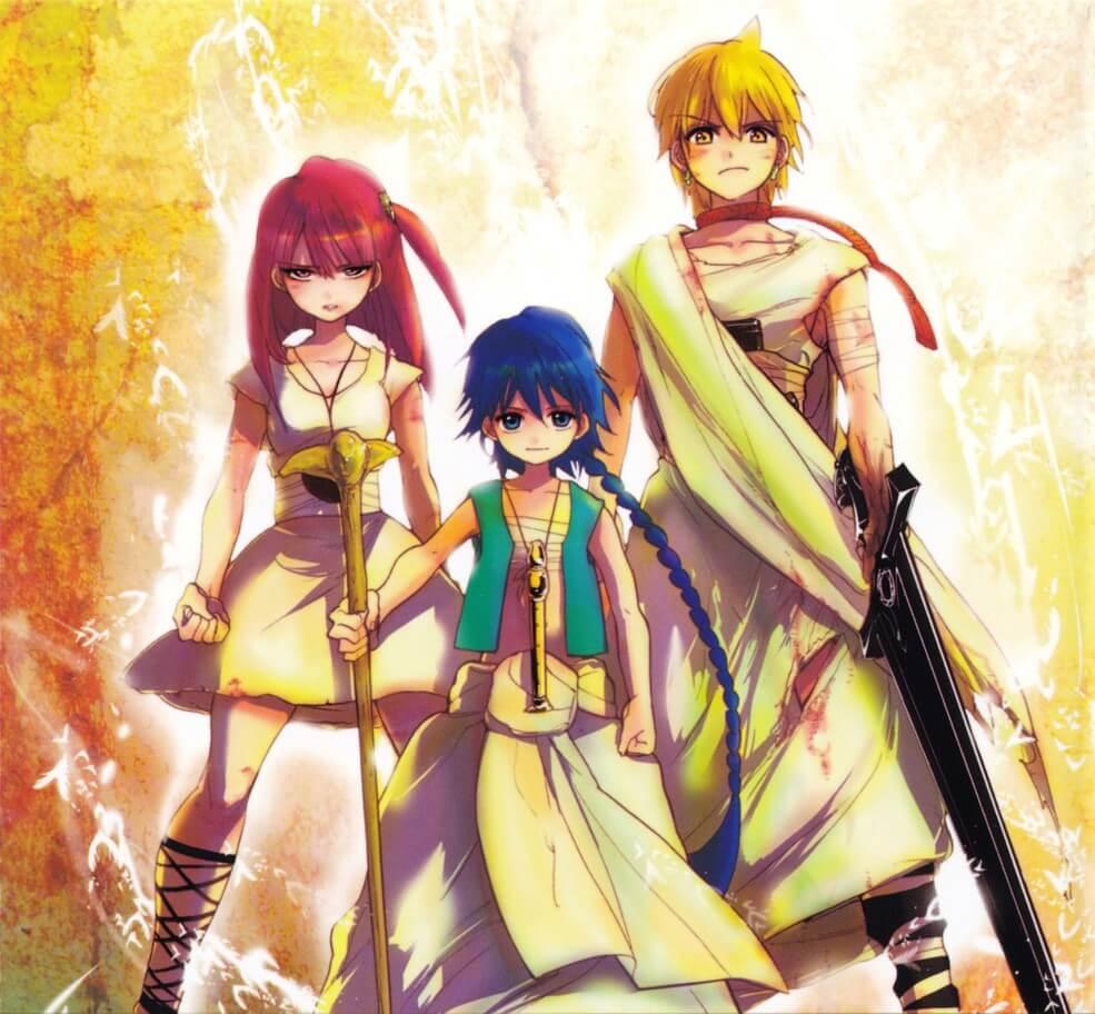Curtas da Semana ptAnime #39 - Anime Magi The Labyrinth of Magic