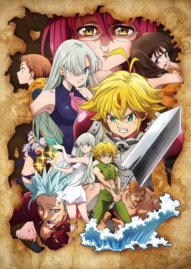 Nanatsu no Taizai com Nova Temporada em 2019 | Nanatsu no Taizai - Manga terá Apenas mais Um Volume