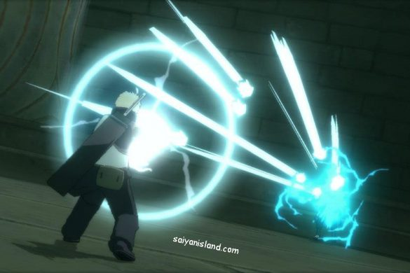 Naruto Shippuden Ultimate Ninja Storm 3 - Gameplay Darui