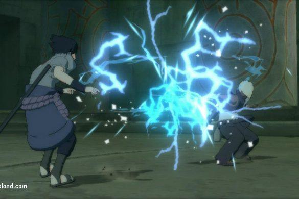 Naruto Shippuden Ultimate Ninja Storm 3 - Sasuke vs Darui