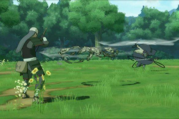 Naruto Shippuden Ultimate Ninja Storm 3 - Mifune vs Hanzo