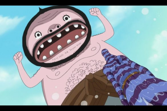 One Piece Episódio 560 - Wadatsumi vs Zeo