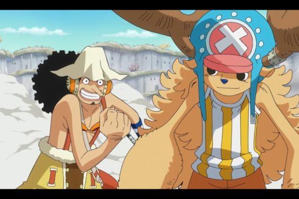 One Piece Episódio 561 - Chopper & Usopp