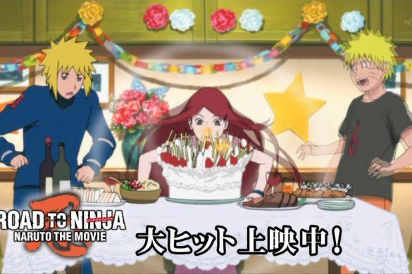 Road to Ninja: Naruto the Movie - Família Uzumaki