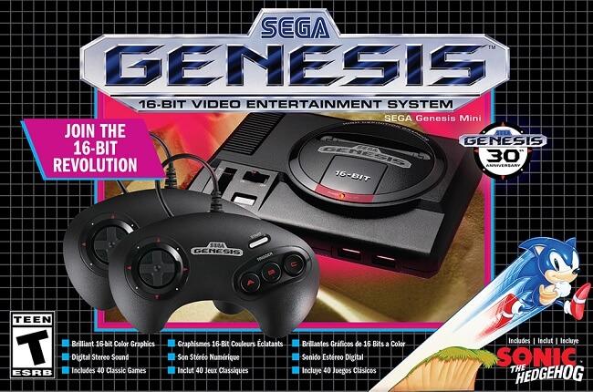 SEGA revela 10 Jogos Adicionais para a Sega Genesis Mini