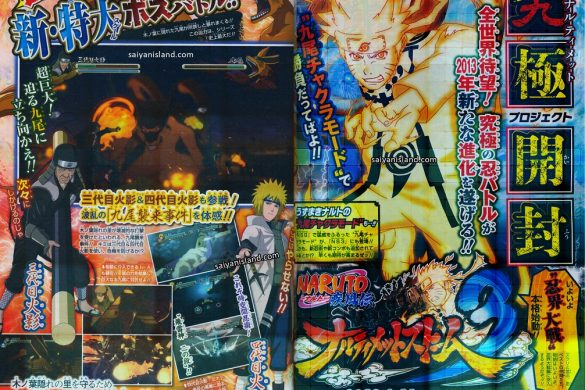 Naruto Shippuden Ultimate Ninja Storm 3 Scan