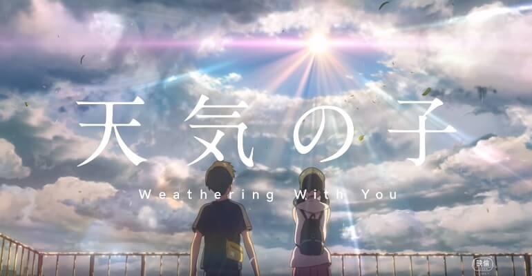 Tenki no Ko - Filme Anime vai receber Manga
