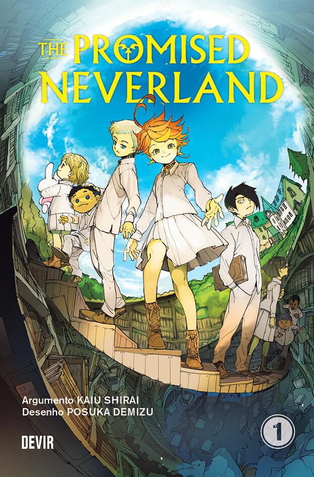 The Promised Neverland em PORTUGUÊS pela DEVIR
