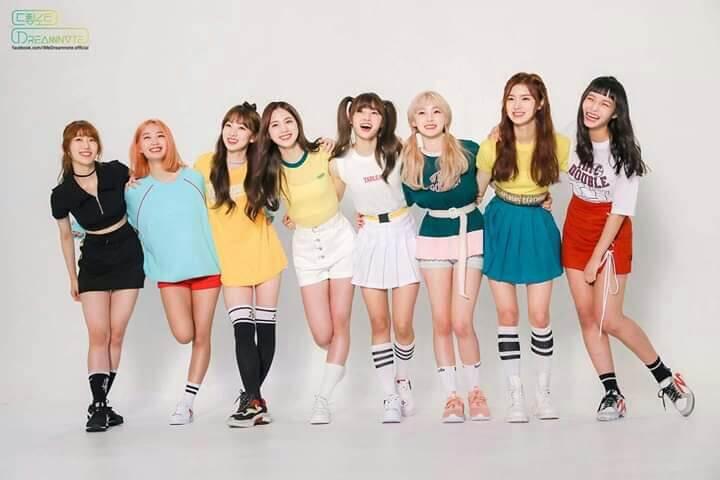 Top Girl Groups Mais Reputados de Abril 2019 dreamnote