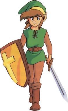 Zelda II: The Adventure of Link - A ovelha negra da família - Link